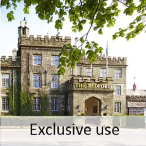 Exclusive use weddings at The Bedford Hotel