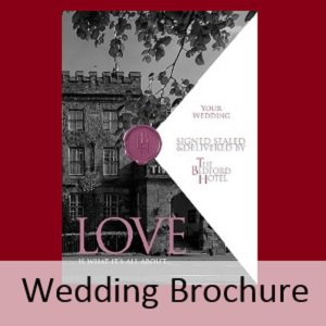 Bedford Hotel wedding brochure
