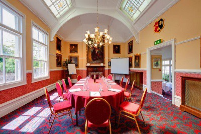 Conference room at The Bedford Hotel in Tavistock