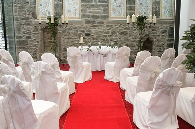 Wedding ceremony at The Bedford Hotel