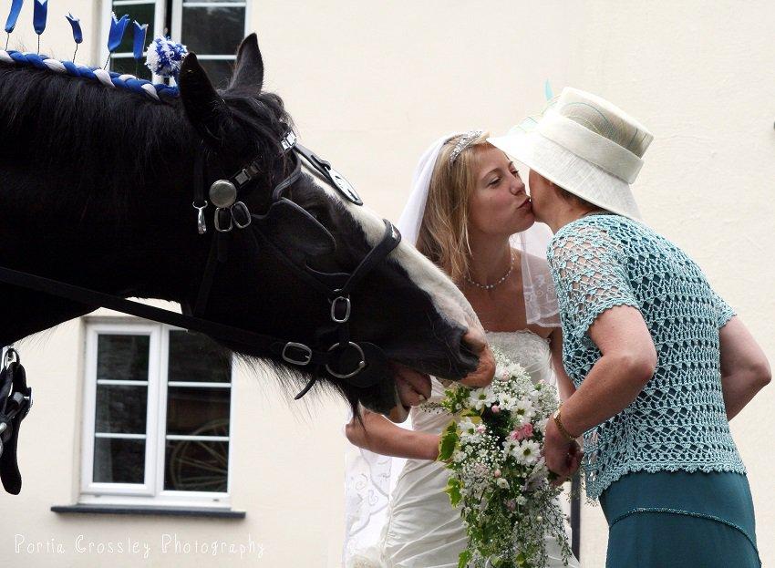 Wedding photography by Portia Crossley
