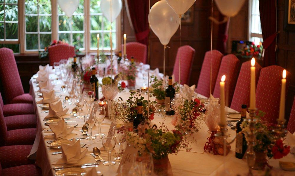 Private dining in the Tavistock Room at The Bedford Hotel