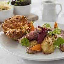 Sunday lunch at The Bedford Hotel, Tavistock, Devon
