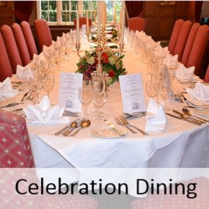 Celebration Dining at The Bedford Hotel