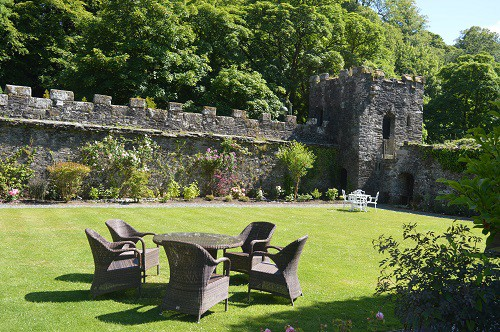 Gardens at The Bedford Hotel Tavistock