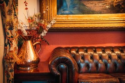 Comfortable sofa at The Bedford Hotel in Tavistock