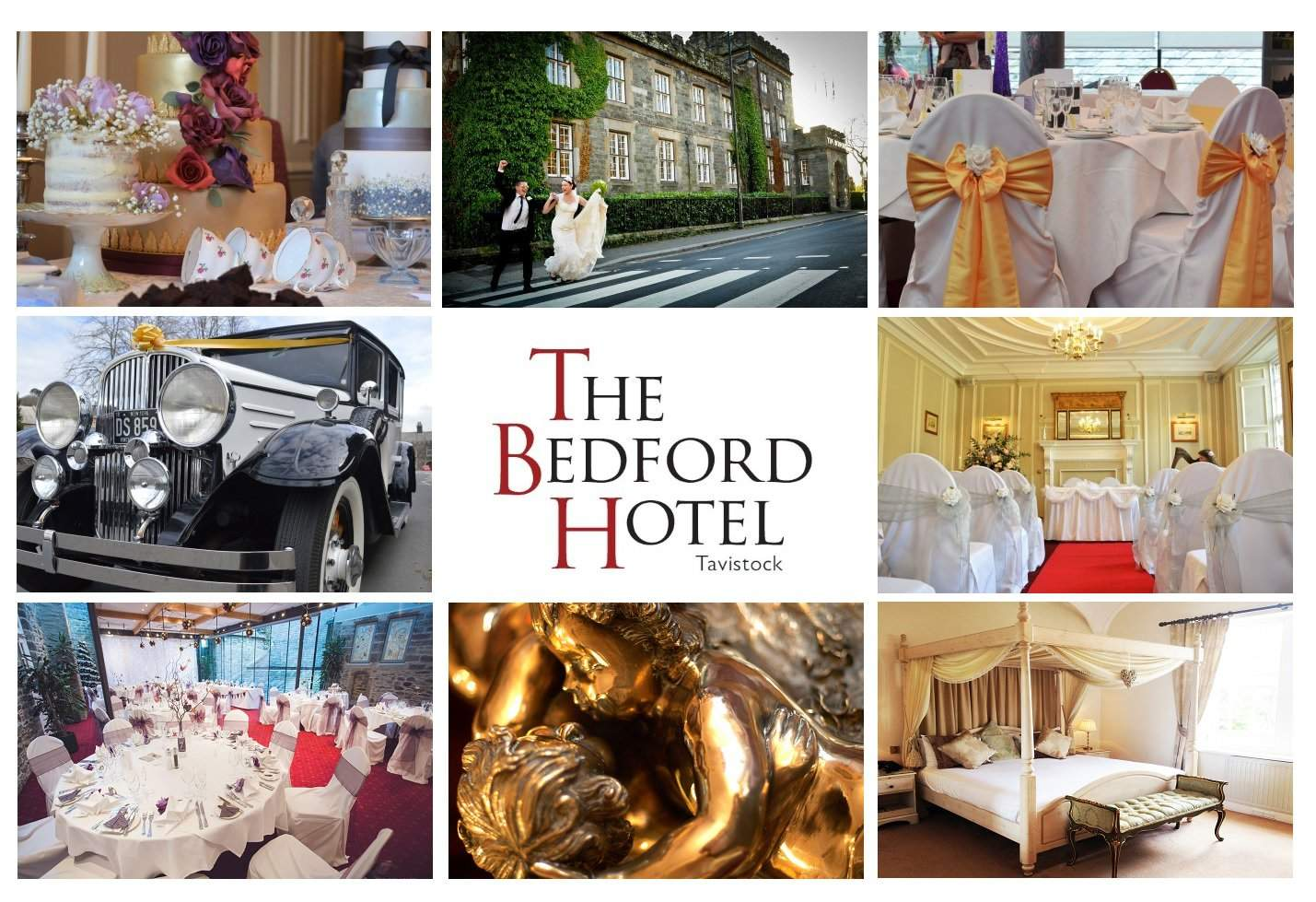 Weddings at The Bedford Hotel, Tavistock, Devon