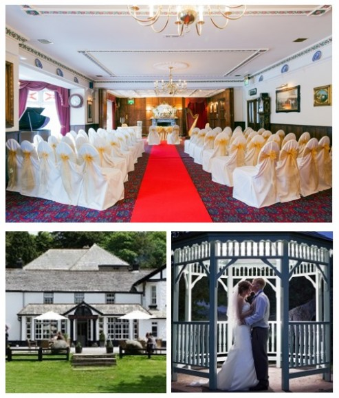Weddings at the Two Bridges Hotel Dartmoor Devon