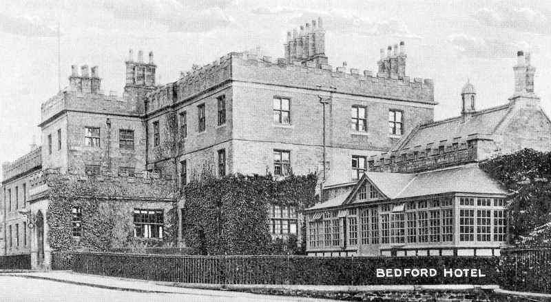 The Bedford Hotel Tavistock Devon in 1920