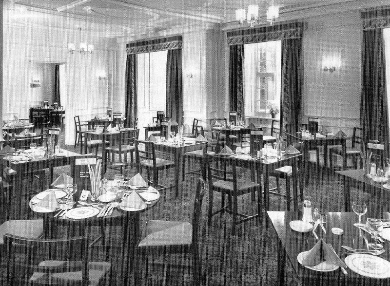 The Bedford Hotel Tavistock history - the restaurant