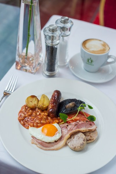 Full Devon Breakfast at The Bedford Hotel
