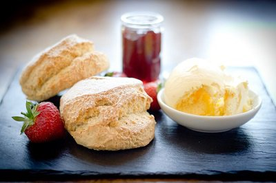 Devon Cream Tea at The Bedford Hotel in Tavistock