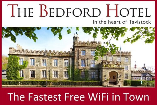 Fast Free WiFi at The Bedford Hotel Tavistock