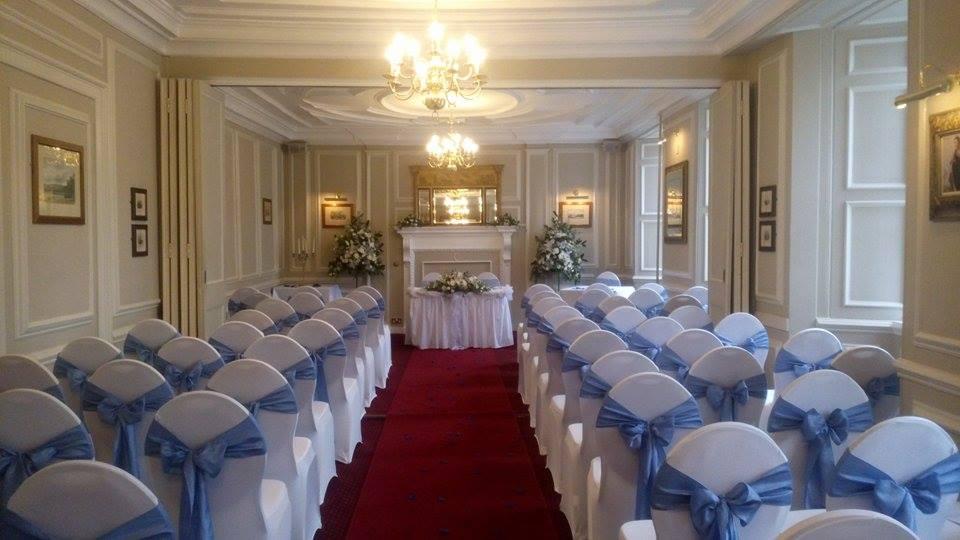 Woburn Room civil ceremony