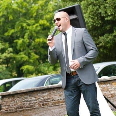 Steve Dott wedding singer