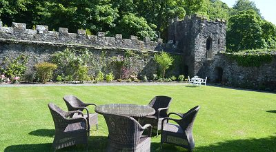 Walled Garden at The Bedford Hotel