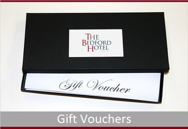 Gift Vouchers from The Bedford Hotel