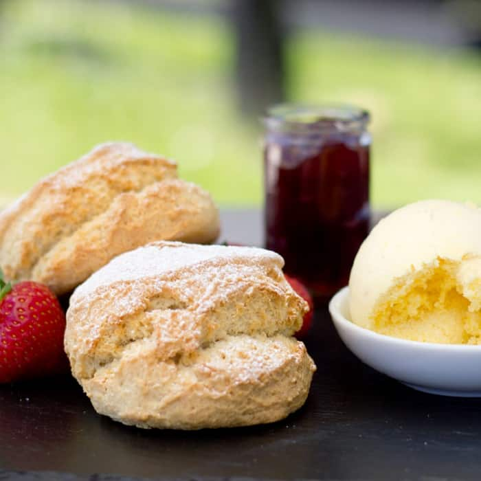 Devon Cream Tea traditioneel