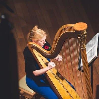 Katie McClaughry harpist