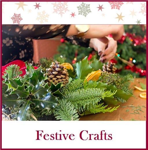 Festive craft workshops at the bedford hotel
