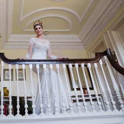 Bride at The Bedford Hotel Tavistock