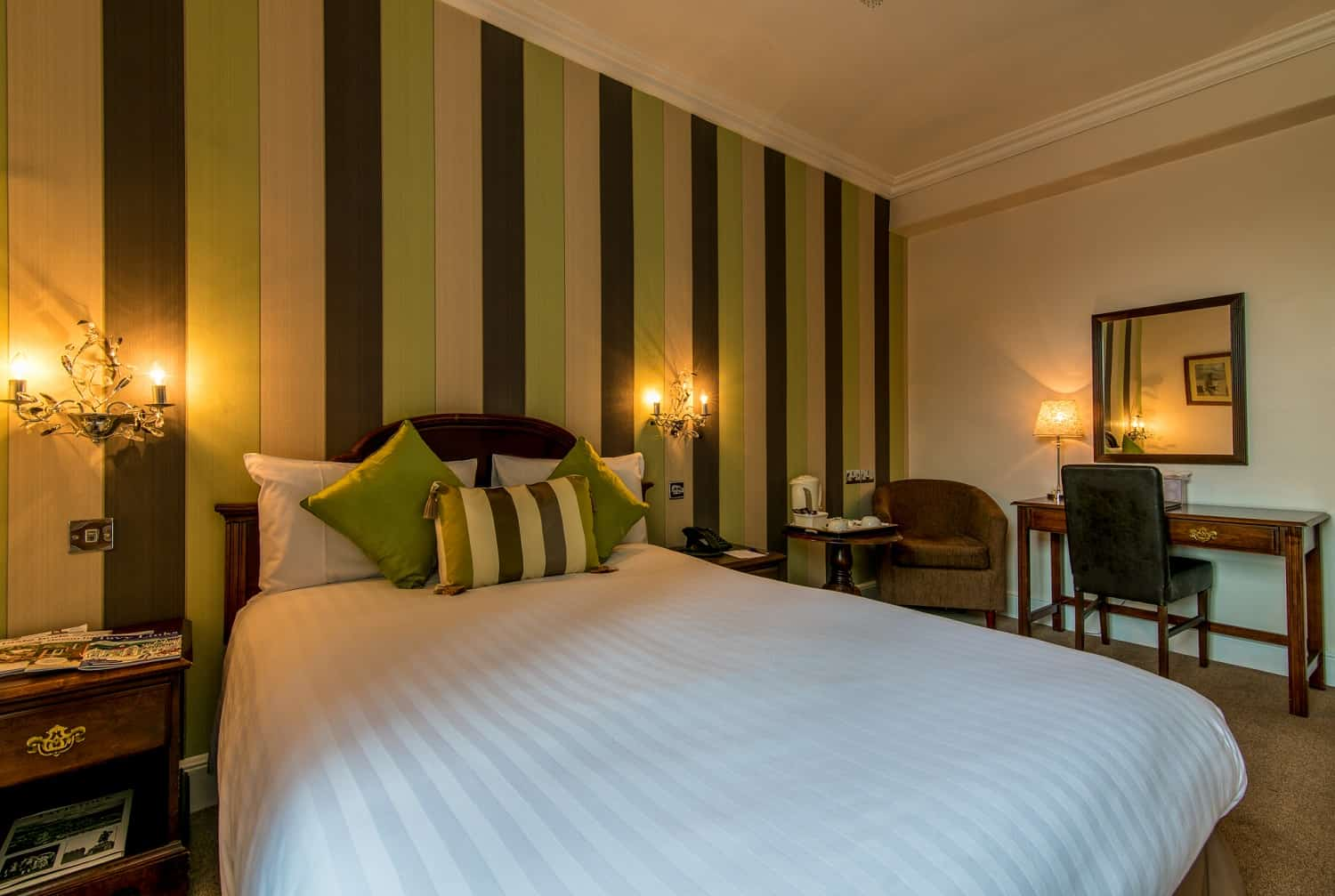 Double room at The Bedford Hotel