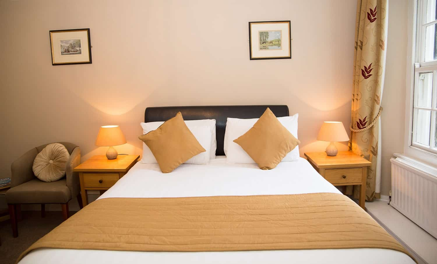 Double room at The Bedford Hotel Tavistock