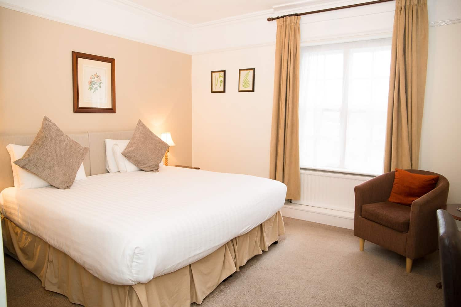 Double or twin room at The Bedford Hotel