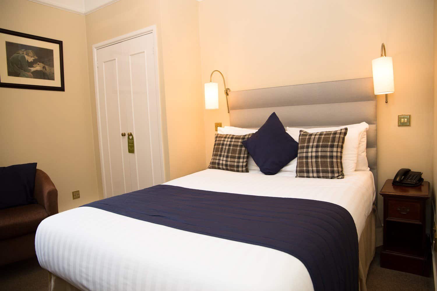Ground floor double room at The Bedford Hotel Tavistock