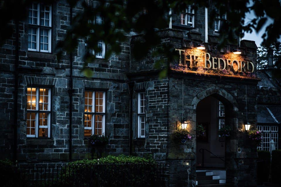 Night time at The Bedford Hotel