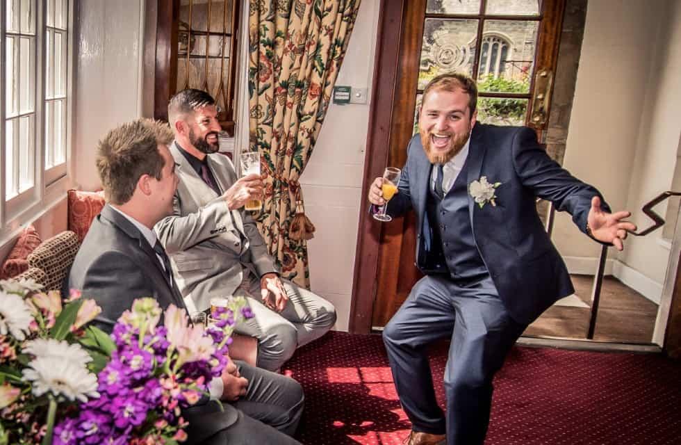 Wedding celebrations at The Bedford Hotel Tavistock