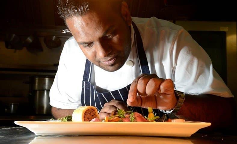Head Chef Raoul Ketelaars