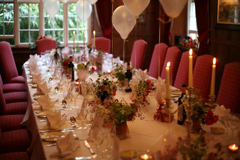 Private party at The Bedford Hotel in Tavistock