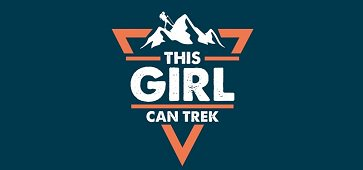 This Girl Can Trek logo