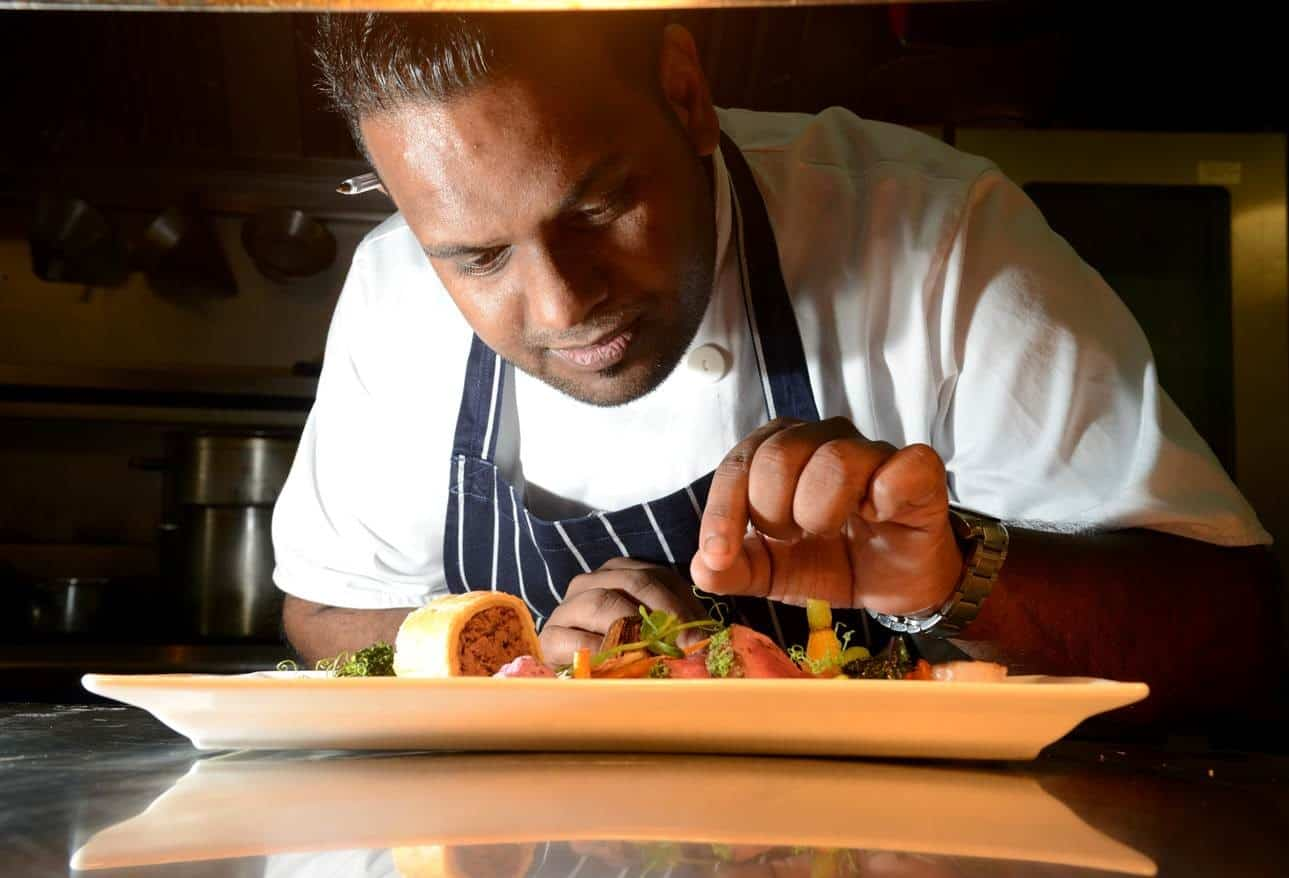 Head Chef Raoul Ketelaars