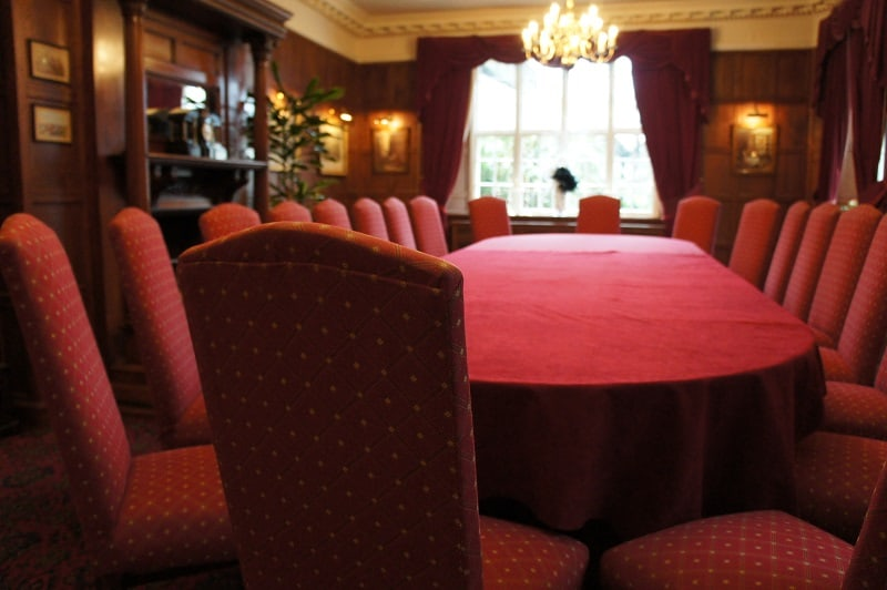 Meeting in the Tavistock Room at The Bedford Hotel