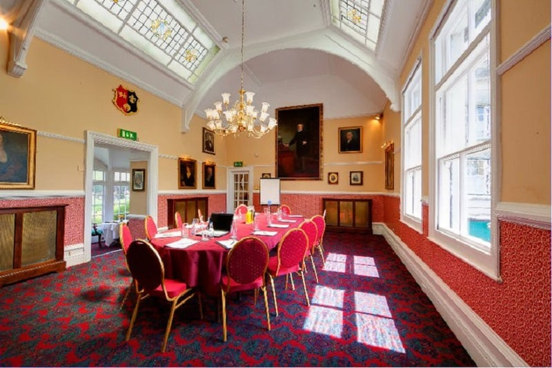 Boardroom meeting at The Bedford Hotel Tavistock