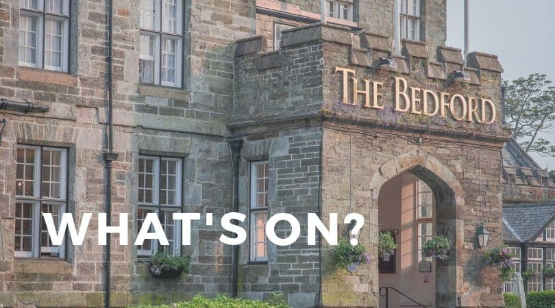 Find our about events and offers at The Bedford Hotel in Tavistock