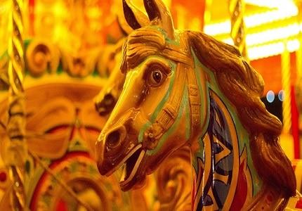 Fairground ride at Tavistock Goose Fair