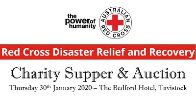 Charity supper banner
