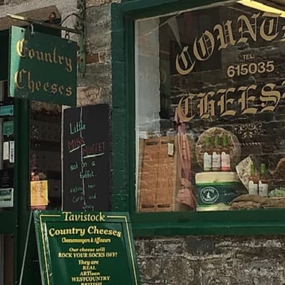Country Cheeses shop in Tavistock