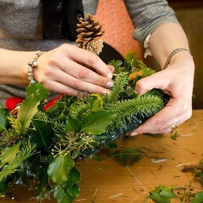 Festive craft workshop at The Bedford Hotel