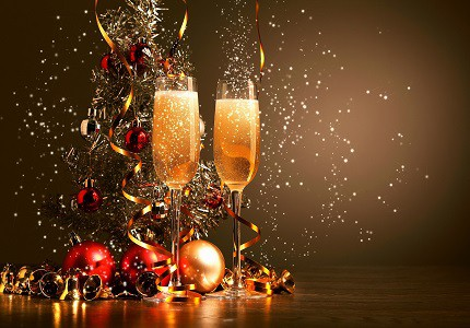 Champagne Christmas Party