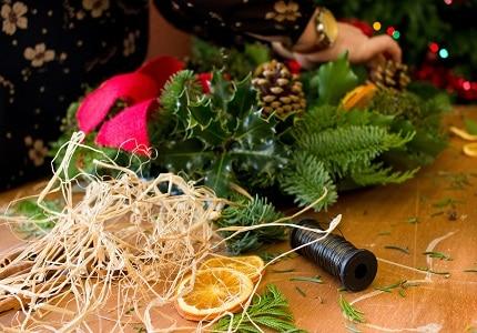 Christmas craft making